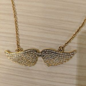 House of Harlow 1960 wings necklace